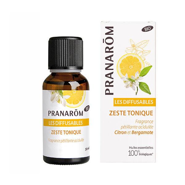 Pranarom Synergies Pour Diffuseur Zeste Tonique Bio 30ml