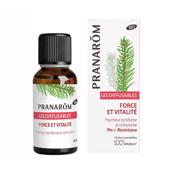 Pranarom Synergies Pour Diffuseur Force et Vitalité Bio 30ml