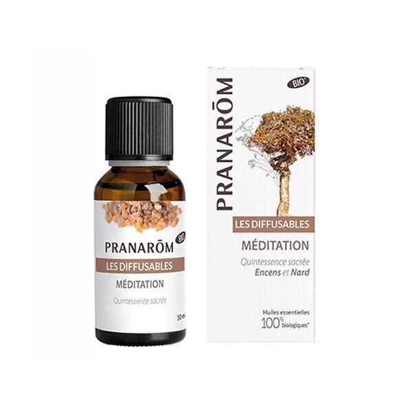 Pranarom Synergies Pour Diffuseur Méditation Bio 30ml
