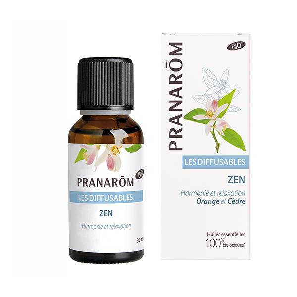 Pranarom Synergies Pour Diffuseur Zen Bio 30ml