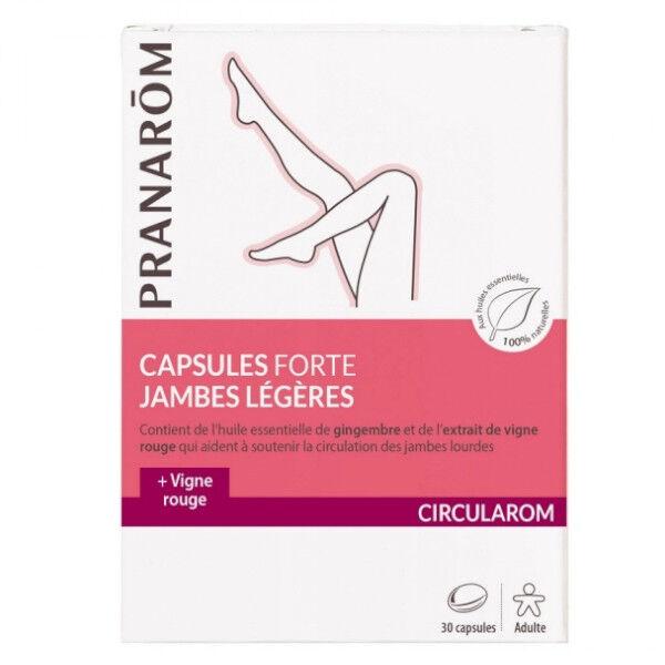 Pranarom Circularom Capsules Forte Jambes Légères 30 unités