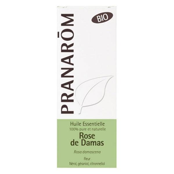 Pranarom Huile Essentielle Rose de Damas Fleur Bio 5ml