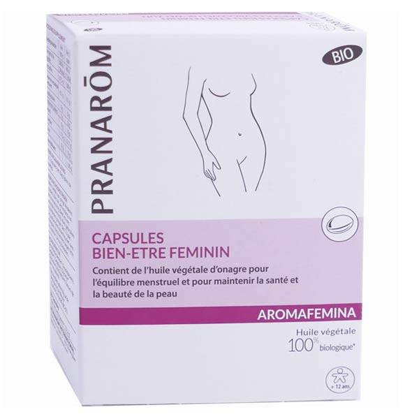 Pranarom Aromafemina Bien Etre Féminin Onagre Bio 30 capsules