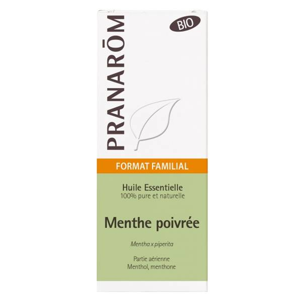 Pranarom Huile Essentielle Menthe Poivrée Bio 30ml