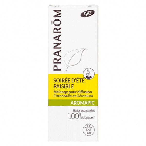 Pranarom Aromapic Soirée d'Été Paisible 20 ml + 10 ml Offert
