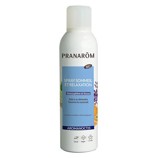 Pranarom Aromanoctis Spray Sommeil et Relaxation Bio 150ml
