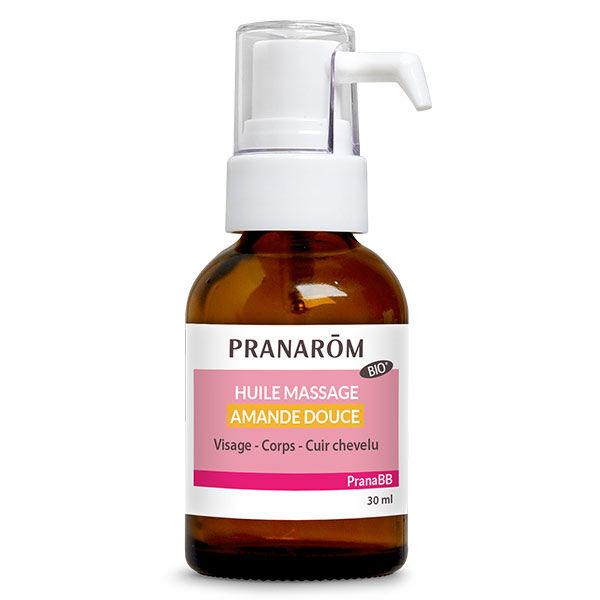 Pranarom PranaBb Huile Massage Amande Douce Bio 30ml