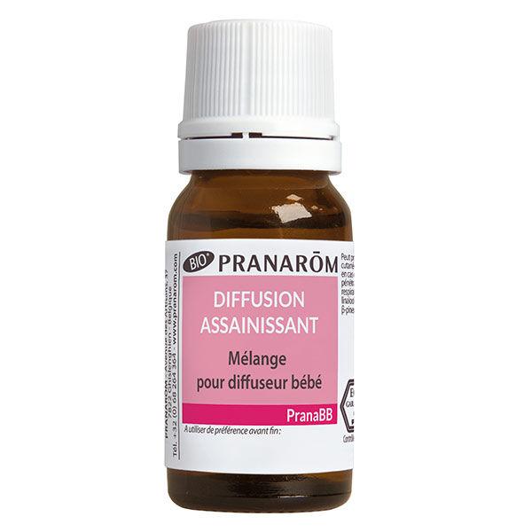 Pranarom PranaBb Mélange Pour Diffusion Assainissant Bio 10ml
