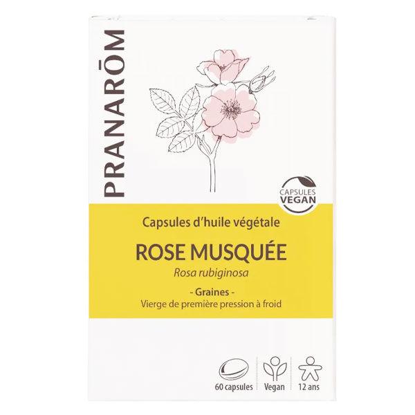 Pranarom Huile Végétale Rose Musquée 60 capsules