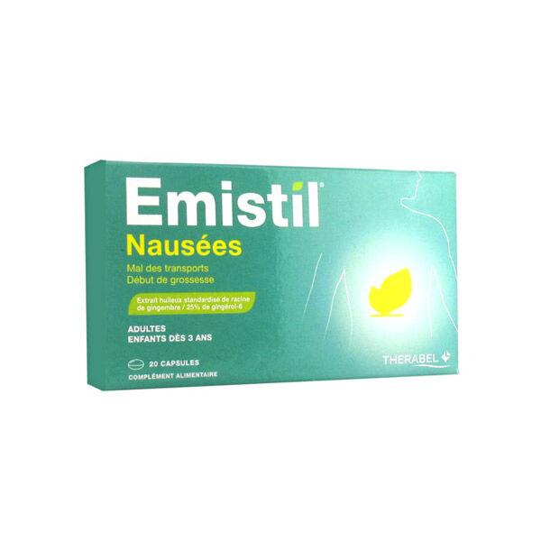 Therabel Emistil Gingembre 20 capsules