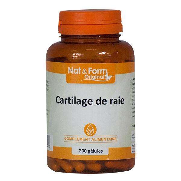 Nat & Form Original Cartilage de Raie 200 gélules