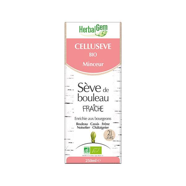 Herbalgem Sève de Bouleau Fraîche Cellusève Bio 250ml