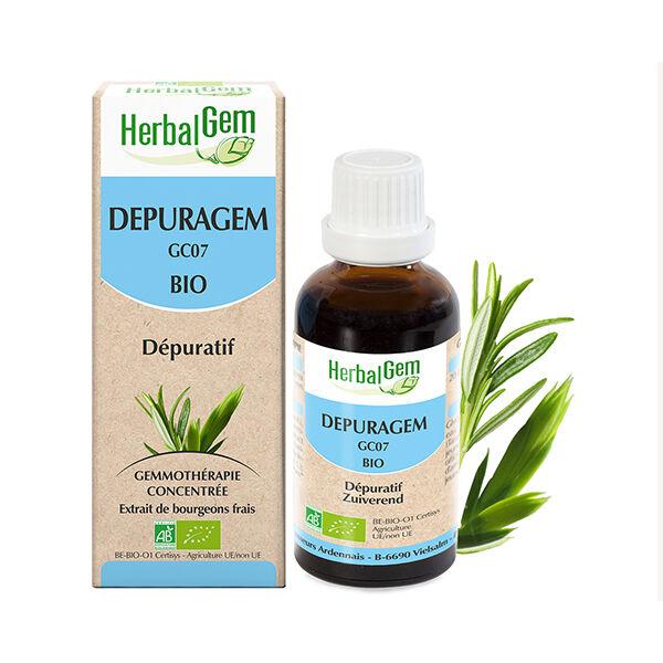 Herbalgem Depuragem Complexe Dépuratif Bio 30ml