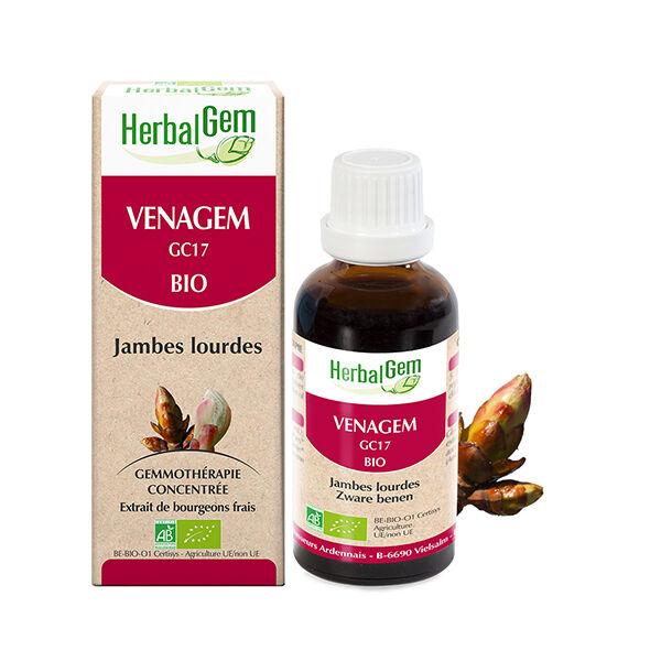 Herbalgem Venagem Complexe Jambes Lourdes Bio 30ml