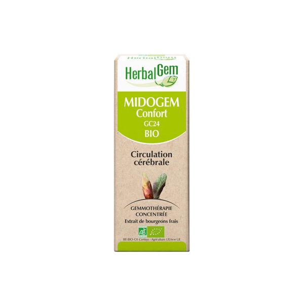 Herbalgem Midogem Complexe Circulation Cérébrale Bio 30ml