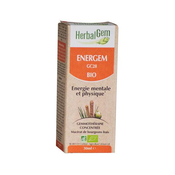 Herbalgem Energem Energie Mentale et Physique Bio 30ml