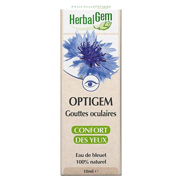 Herbalgem Optigem Gouttes Oculaires Confort des Yeux 10ml