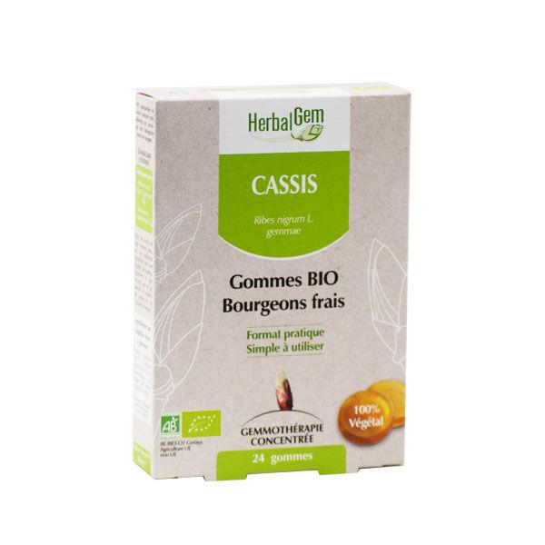 Herbalgem Macérat Concentré Gomme Cassis Bio 24 gommes