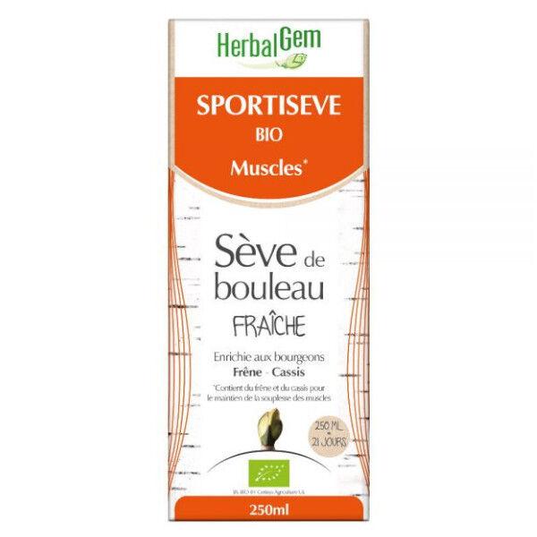 Herbalgem Sportisève Sève de Bouleau Fraîche Bio 250ml