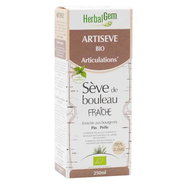 Herbalgem Artisève Sève de Bouleau Fraîche Bio 250ml