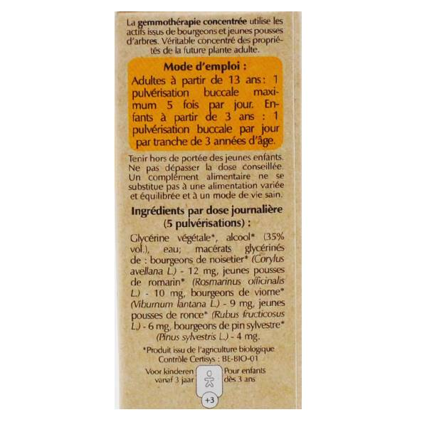 Herbalgem Respigem Spray GC30 Bio 10ml