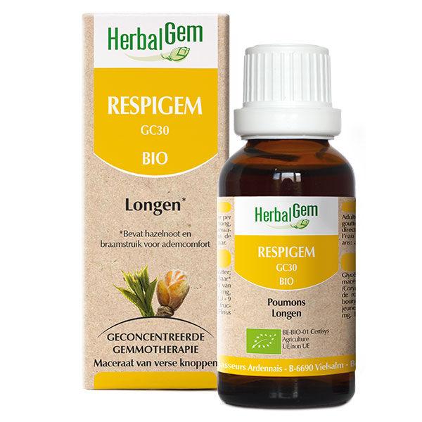 Herbalgem Complexe de Gemmothérapie Respigem Poumons Bio 50ml