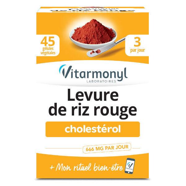 Vitarmonyl Levure de Riz Rouge 45 gélules végétales