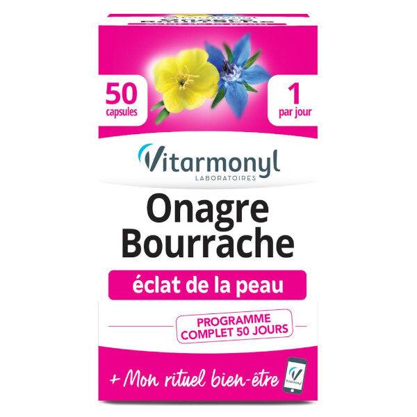 Vitarmonyl Onagre Bourrache 50 capsules