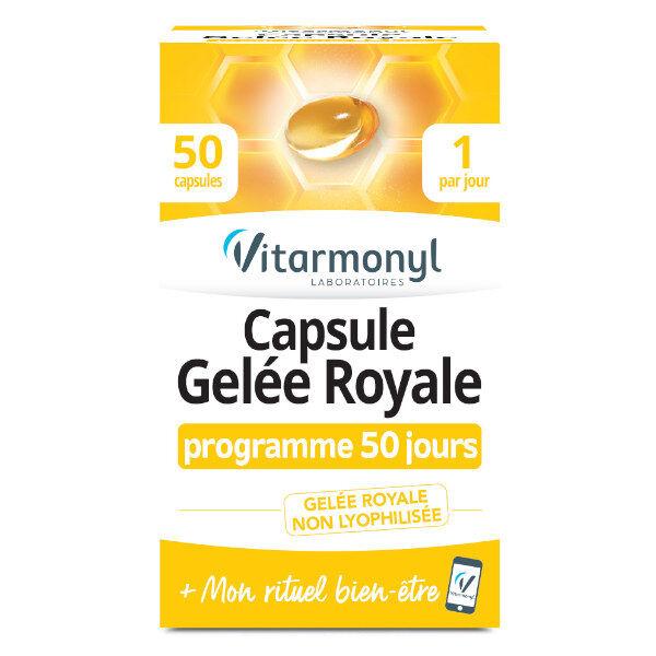 Vitarmonyl Capsule Gelée Royale 50 capsules