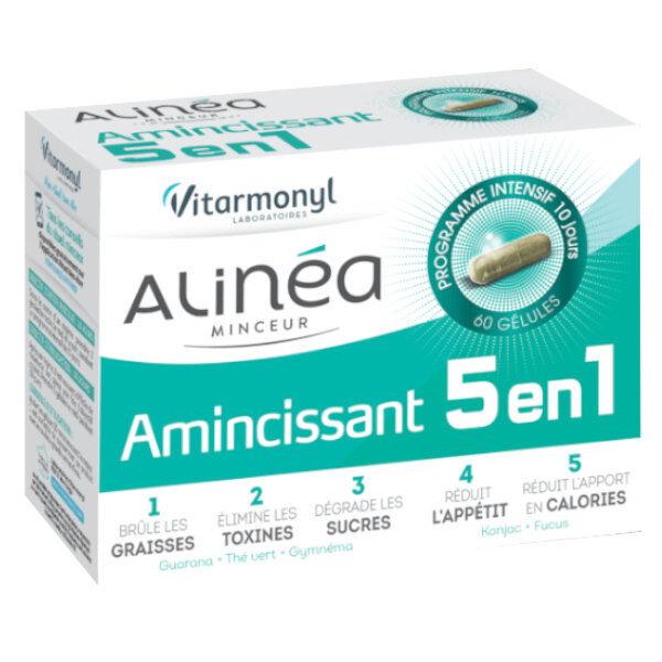 Vitarmonyl Beauté Alinéa Minceur Amincissant 5 en 1 60 gélules