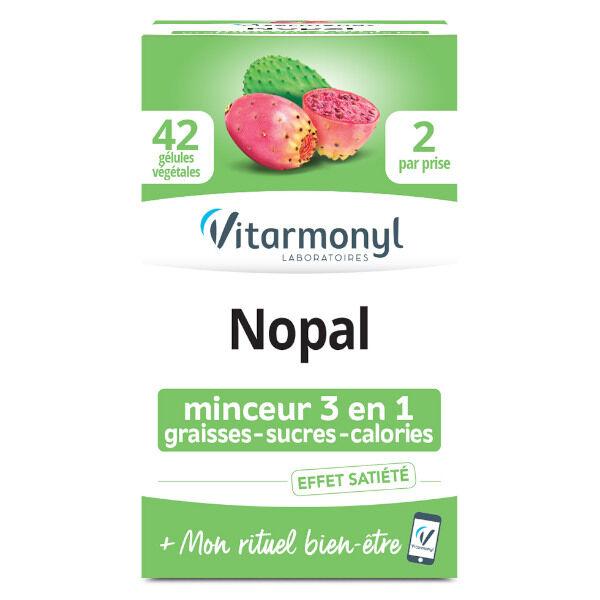 Vitarmonyl Nopal 42 gélules végétales