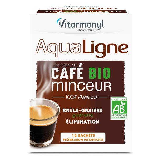 Vitarmonyl Aqualigne Café Minceur Bio 12 sachets