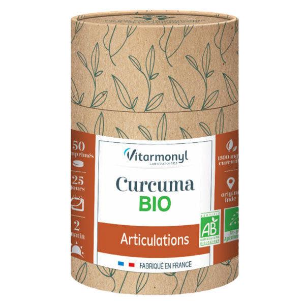 Vitarmonyl Actifs Naturels Curcuma Bio 50 comprimés