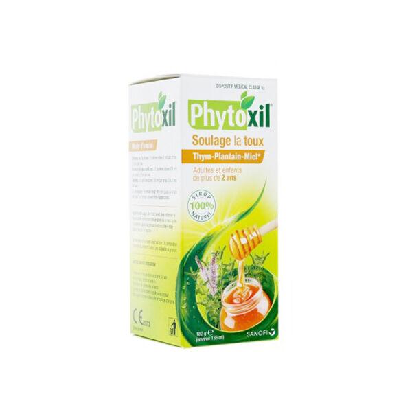 Phytoxil Sirop Soulage la Toux Thym Plantain Miel 180g
