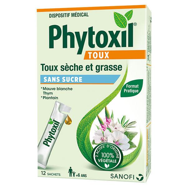 Sanofi Aventis Phytoxil Toux sans Sucre 12 sachets