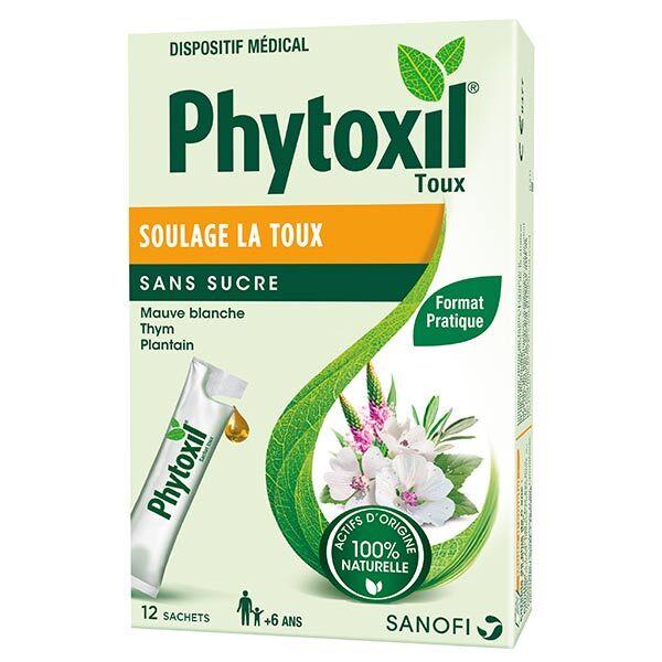 Sanofi Aventis Phytoxil Toux Sirop sans Sucre 12 sachets