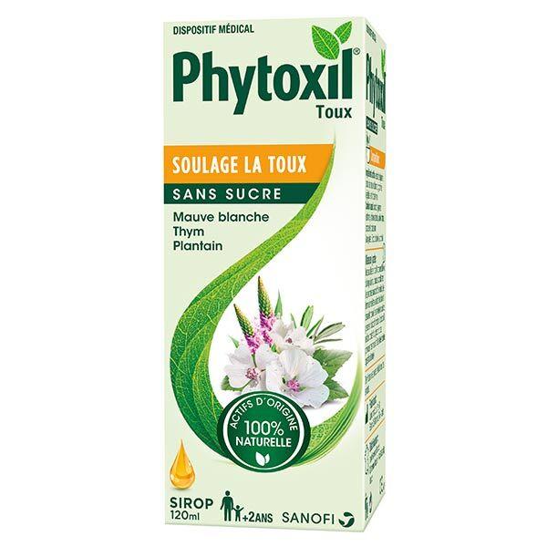 Sanofi Aventis Phytoxil Toux Sèche et Grasse Sans Sucre 120ml