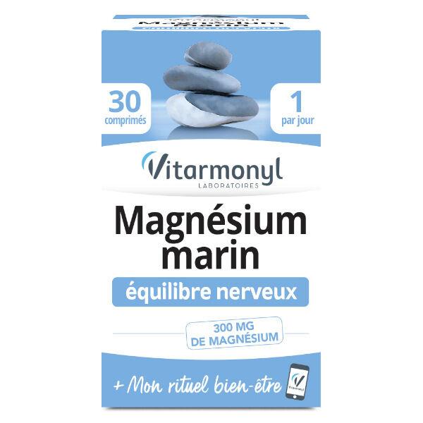 Vitarmonyl Magnésium Marin 30 comprimés