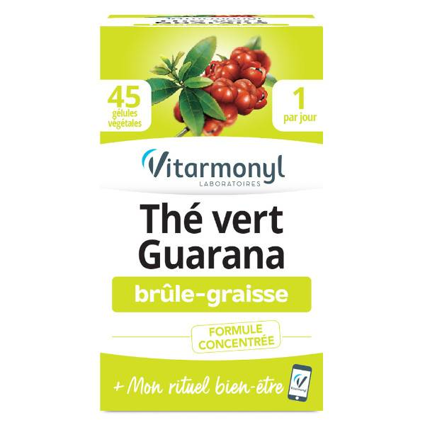 Vitarmonyl Actifs Naturels Thé Vert Guarana 45 gélules