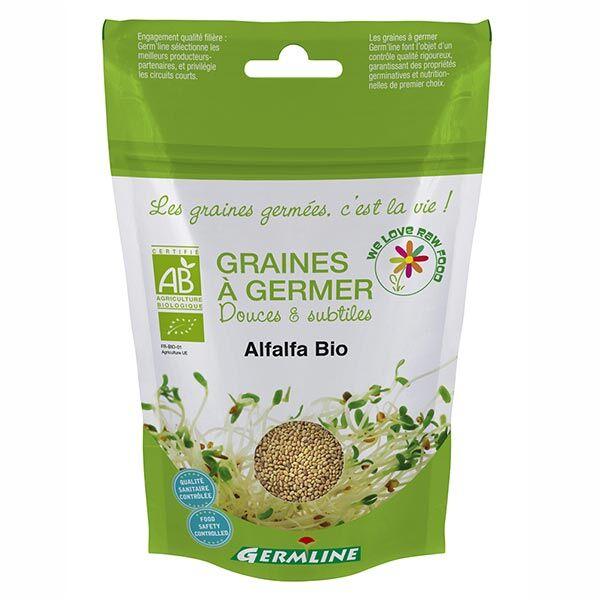 Germ'Line Germline Graines à Germer Alfalfa Bio 150g