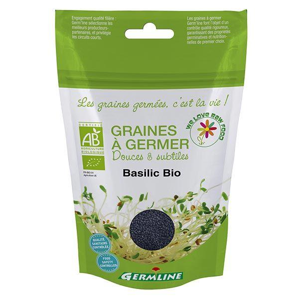 Germ'Line Germline Graines à Germer Basilic Bio 100g