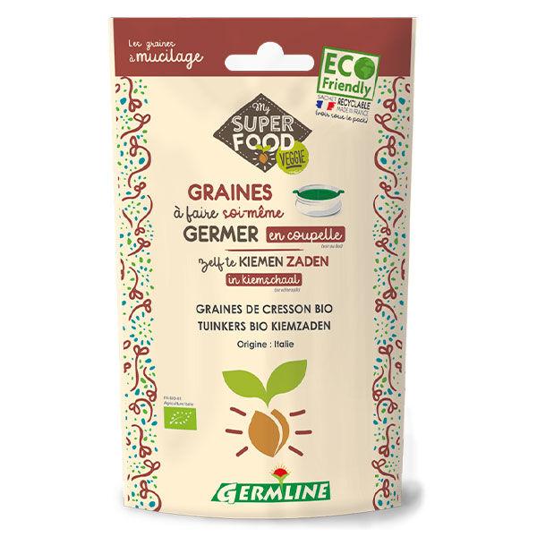Germ'Line Germline Graines à Germer Cresson Bio 100g