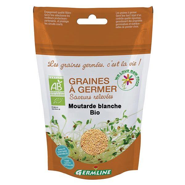 Germ'Line Germline Graines à Germer Moutarde Bio 100g
