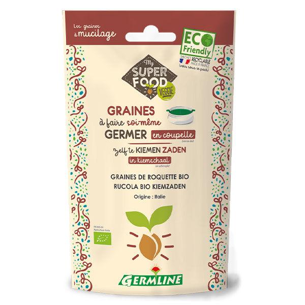 Germ'Line Germline Graines à Germer Roquette Bio 100g