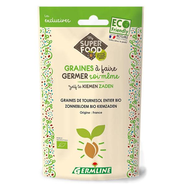 Germ'Line Germline Graines à Germer Tournesol Entier Bio 100g