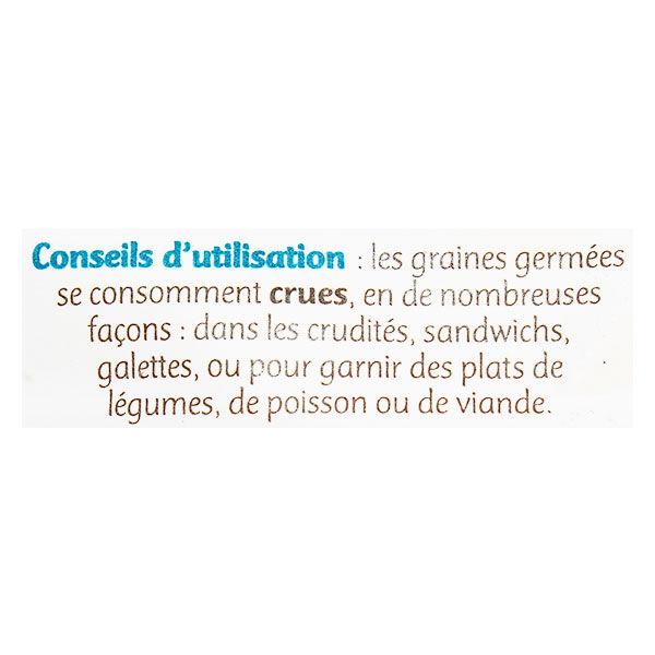 Germ'Line Germline Graines à Germer Mix 4 Radis Bio 100g