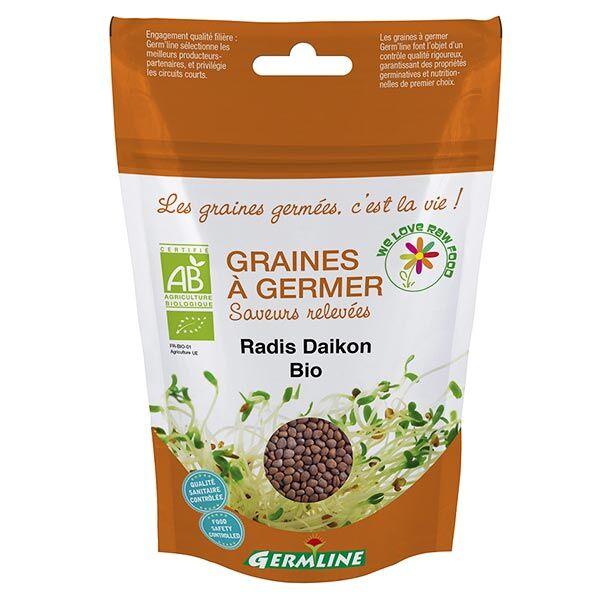 Germ'Line Germline Graines à Germer Radis Daikon Bio 100g