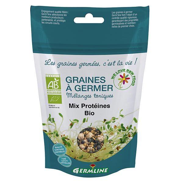Germ'Line Germline Graines à Germer Mix Protéines Bio 200g