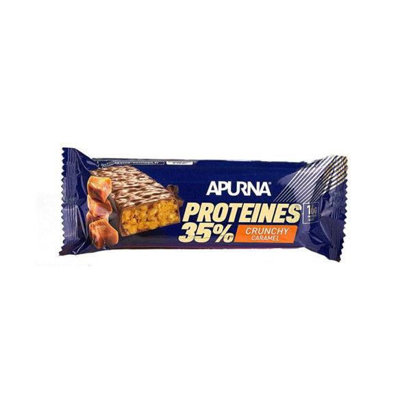 Apurna Barre Hyperprotéinée Crunchy Caramel 45g