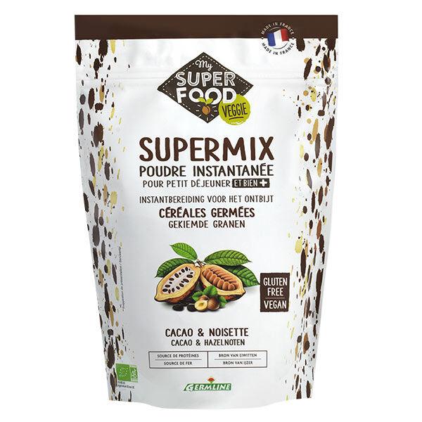 Germ'Line Germline Supermix Petit-Déjeuner Cacao Noisette Bio 350g